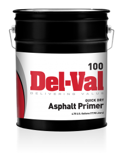 Image of Del-Val 100 Quick-Dry Asphalt Primer in 5 Gallon Pail