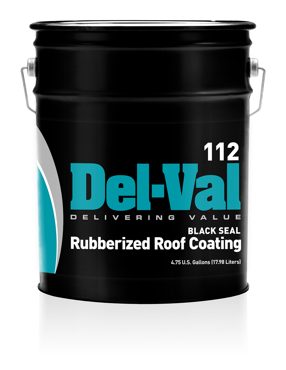 112 Del Val Black Seal Rubberized Roof Coating United