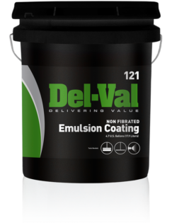 Del-Val 121 Non-Fibered Emulsion Coating - 5 Gallon Bucket