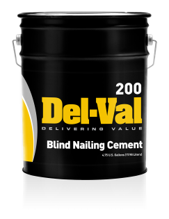 Image of Del-Val 200 Blind Nailing Cement - 5 Gallon Pail
