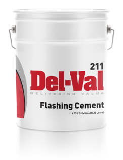 Del-Val 211 Flashing Cement - 5 Gallon Pail