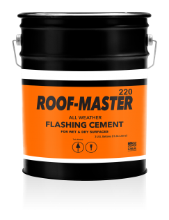 Image of United Asphalt's Roof-Master 220 All Weather Flashing Cement - 5 Gallon Pail