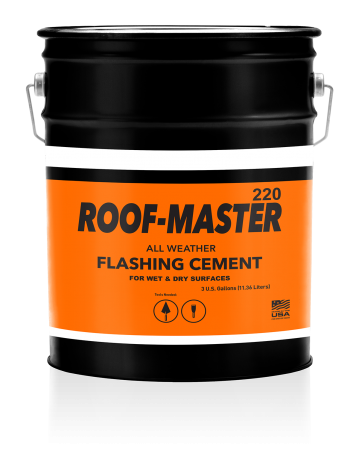 220 Roof-Master All Weather Flashing Cement - United Asphalt