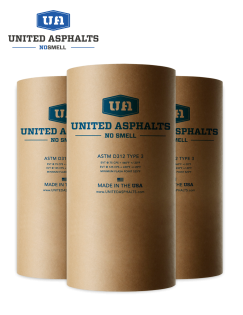 Image of United Asphalts packaged asphalt.