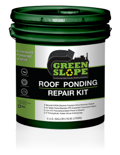 Image of GreenSlope - Roof Ponding Repair Kit - 5 Gallon Pail
