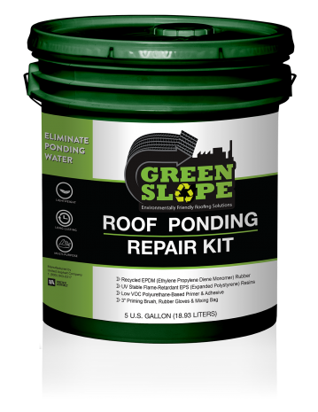 Greenslope Roof Ponding Repair Kit United Asphalt Company