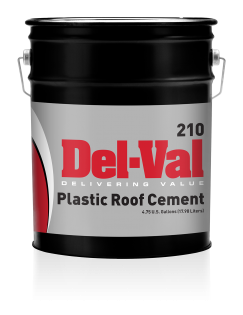 Image of Del-Val 210 Plastic Cement - 5 Gallon Pail