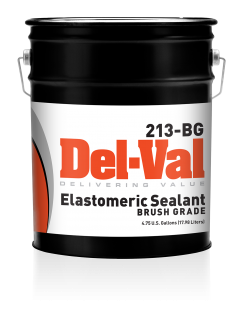 Image of Del-Val 213 Elastomeric Sealant (Brush Grade) - 5 Gallon Pail