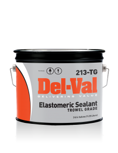 Image of Del-Val 213 Elastomeric Sealant (Trowel Grade) - 3 Gallon Pail