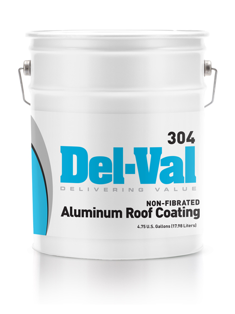 #304 Del Val Non Fibered Aluminum Roof Coating
