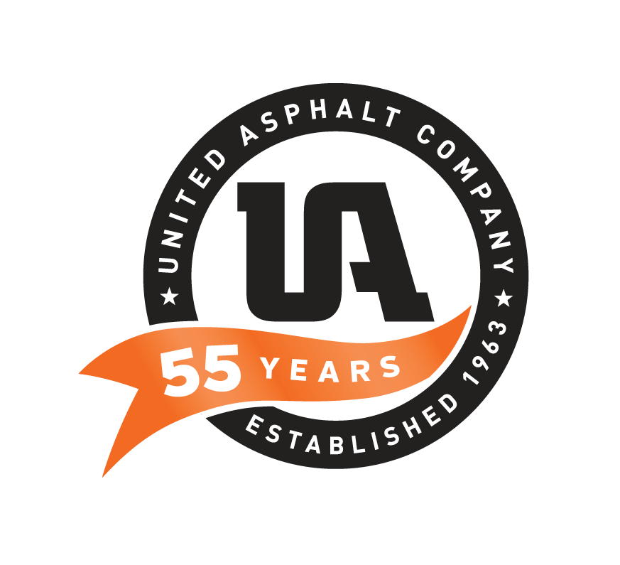 Image of United Asphalt Company's 55th Anniversary Logo