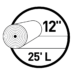 12 inch UNI-Seal Roll Icon