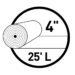 4 inch UNI-Seal Roll Icon
