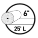 6 inch UNI-Seal Roll Icon
