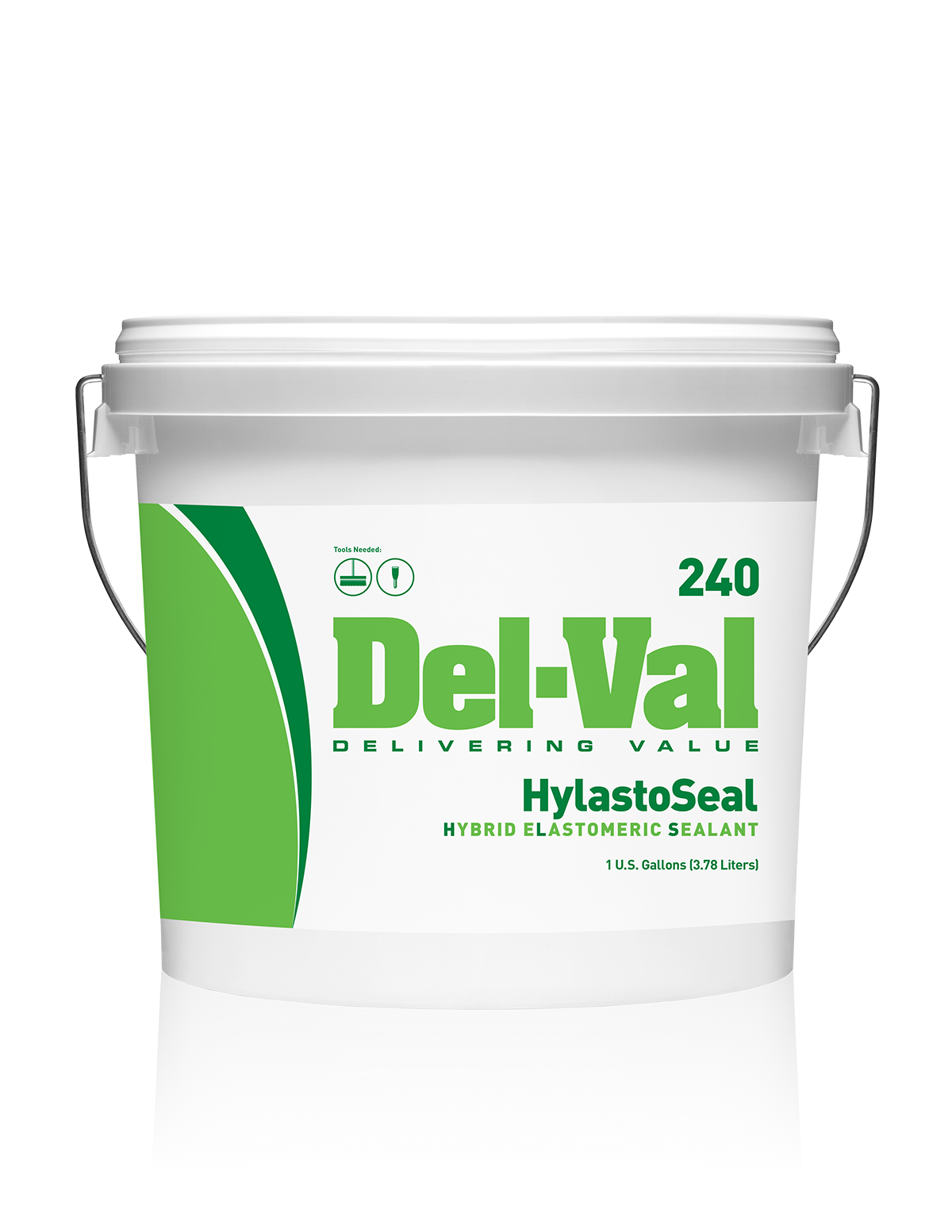 Del-Val 240 3 Gallon Plastic Bucket