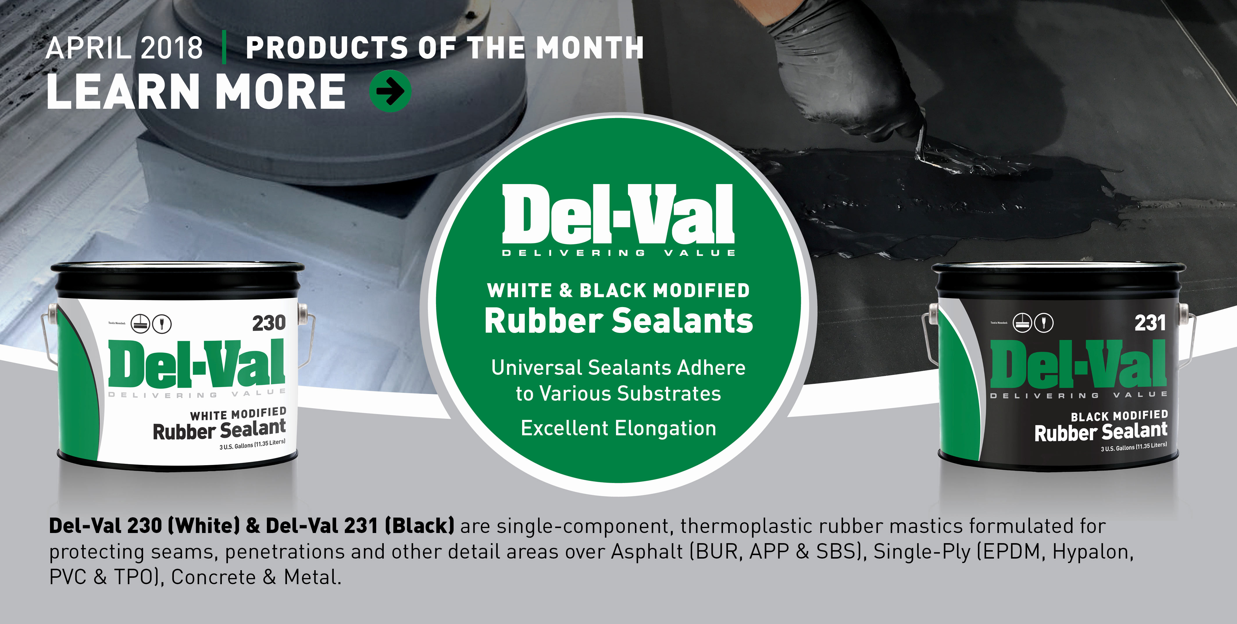 Image of Featured Products of the Month for April 2018: Del-Val 230 & 231