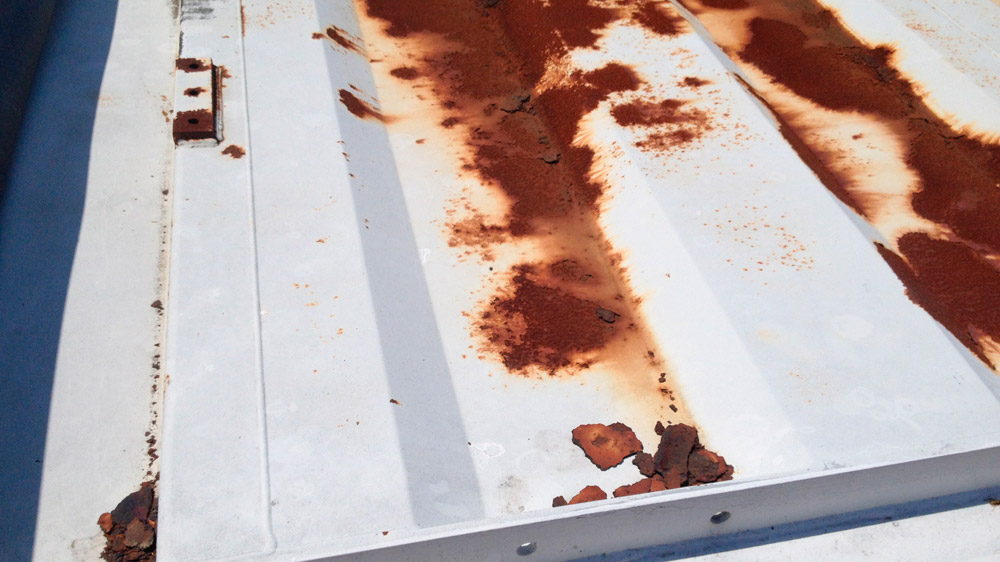 Rust - Sign of Roof Damage