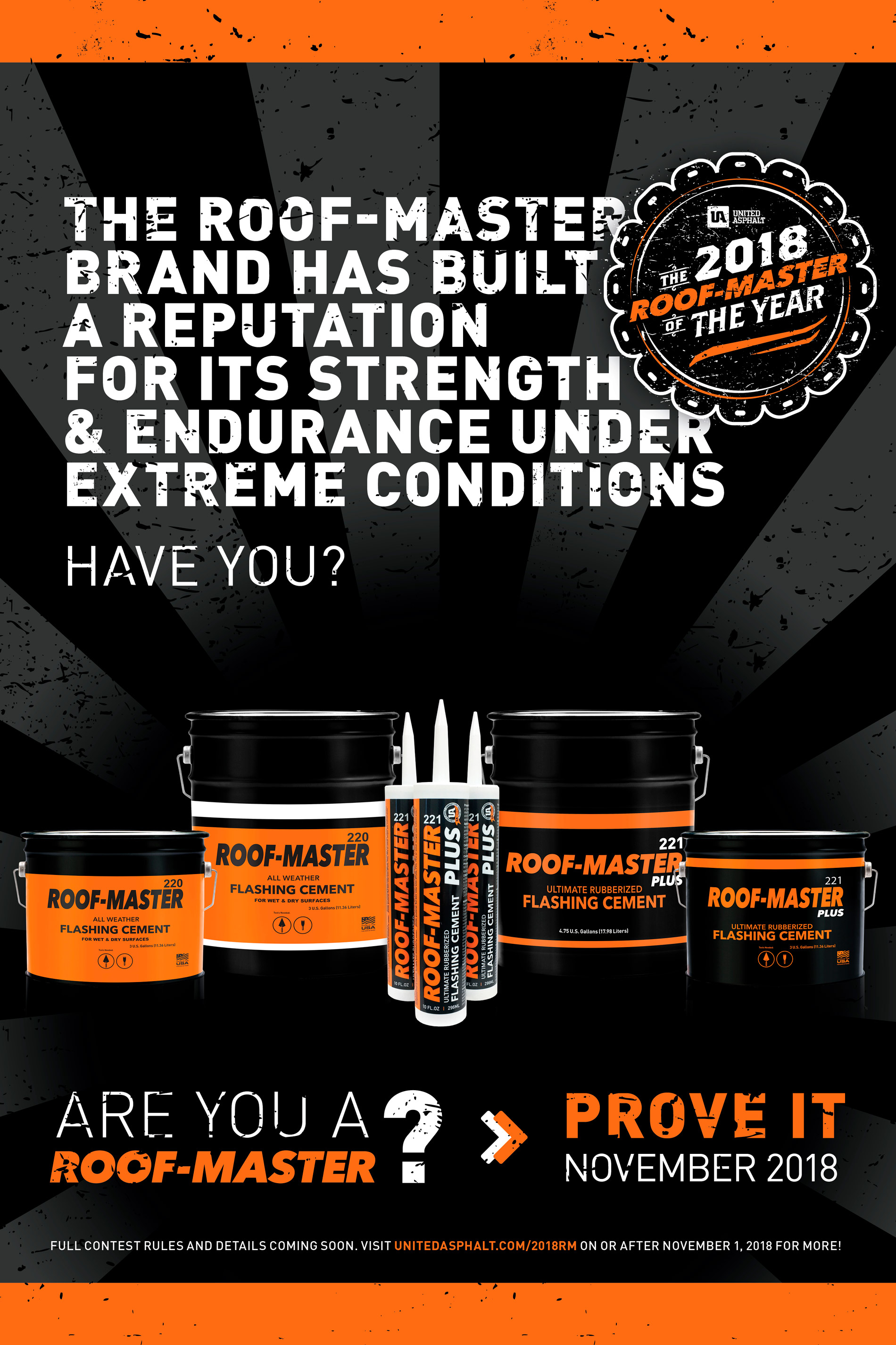 2018 Roof-Master of the Year Contest Landing Page Teaser