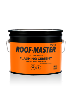 Roof-Master 220 All Weather Flashing Cement - 3 Gallon Pail