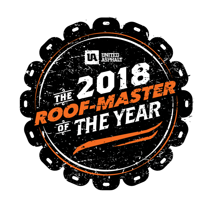 2018 Roof-Master of the Year Contest Logo