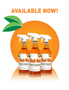 Del-Val Cleaner & Degreaser Available Now in 32oz