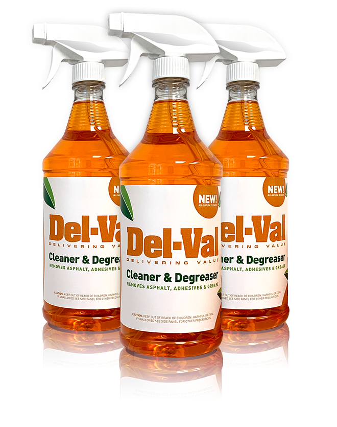 Del-Val Orange Cleaner & Degreaser