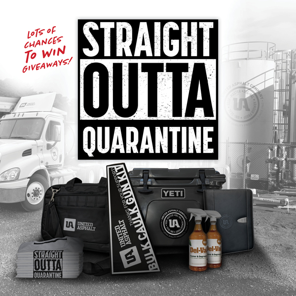 Straight Outta Quarantine Website Header Graphic
